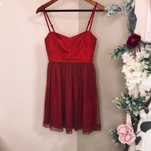 Holliday sweetheart dress Fossil